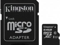 Card memorie microsd 64gb + adaptor sd produs nou