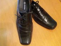Pantofi barbatesti piele meagra- ca noi ! Nr. 42