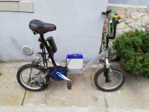 Bicicleta electica pentru adolescenti
