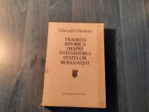 Traditia istorica despre intemeiarea statelor romanesti