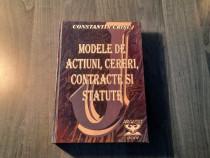 Modele de actiuni cereri contracte si statute C.tin Crisu