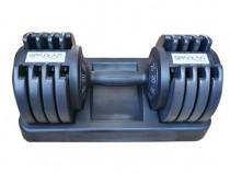 Gantera Profesionala Reglabila 5-25 kg - discuri fonta -Noua