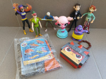 Colectie 9 figurine McDonald's 2002-2019