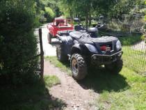 ATV Linhai Quadzilla 300 4x4, cu remorcă Rotakt