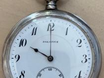 Ceas de buzunar Solstice din argint