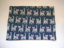 Eşarfă tip burlan, cu pisici