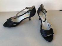 Pantofi de dans Darcos Tango Argentina din satin si textil g