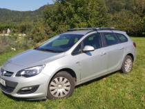 Opel astra j decembrie 2014