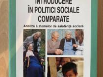 Introducere in politici sociale comparate FLORIN LAZAR 2010