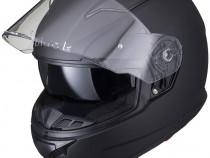 Casca Motocicleta NOUA negru mat -Black Apex- ochelari soare