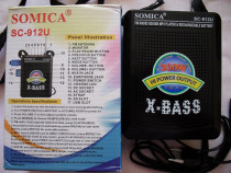 Somica si waxiba, fm radio, sd-usb mp3 player & rechargeable