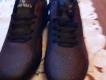 Pantofi sport din piele sintetica