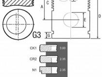 Piston si segmenti tractor Fiat