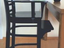 Scaun copil din lemn masiv