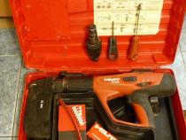 Hilti de implantat cuie si bolturi cu pistolul cu capse DX 4