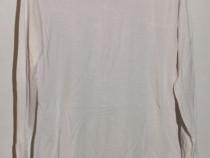 Bluza cu maneca lunga, lycra + bumbac