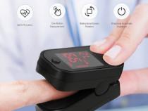 Pulsoximetru pentru deget V1.0 (cu husă de protecṭie)