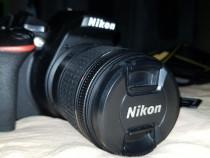 DSLR Nikon D5600 kit AF-P 18-55 mm VR + garantie 2 ani