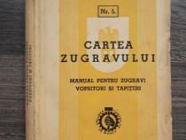 Carte veche manual pentru zugravi vopsitori tapiteri 1940