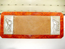 B873-I-Tavita vintage capete Cai in relief argint 925 R.