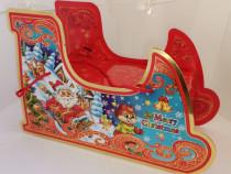 Sanie cutie punga cadou din carton Cadou special Craciun