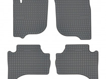 Set Covorase Auto Cauciuc Negro Mitsubishi L200 2019→ 410602