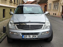 SsangYong Rexton 2,7 XDi automatic, 4x4 tracteaza 3,5t, RATE