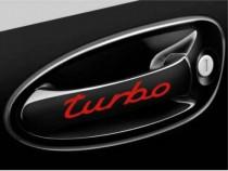 Sticker Manere Usi Turbo Negru