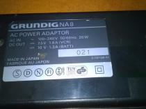 Incărcător Grundig  model NA8  pentru acumulatori  camere vi