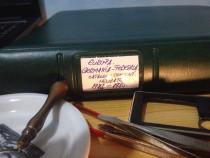 Clasor Lindner 40 pagini cu timbre neuzate.