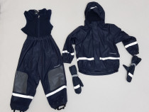 Costum iarnă, salopeta ski, Set Didriksons 100 % Waterproof