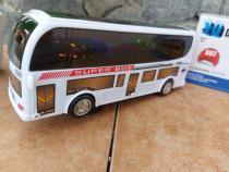 Autobuz copii cu muzica și lumini autobuz pe baterii
