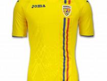 Tricou Joma 1st Ff Romania galben cu maneca scurta
