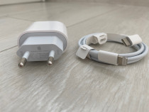 Iphone Incarcator Fast Charger 18W + Cablu Type C Lightening