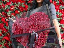 Realizam Cutie 101 trandafiri din săpun