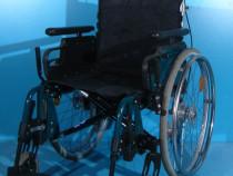 Scaun carucior handicap cu rotile Sopur / sezut 43 cm
