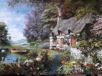 """Tablou puzzle """"Căsuța din pădure"""""""