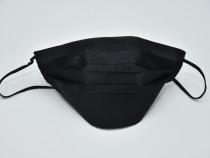 Mască reutilizabilă, PENTRU COPII și Adulți ,Bumbac, negru