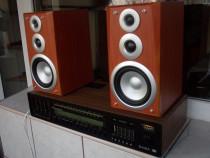 SABA HiFi Studio 8070 k receiver + boxe,vintage 1974 Germany
