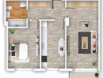 Apartament nou 2 camere decomandat Prima Universității