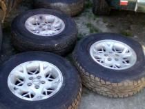 Roți pe 16 Jeep cu anvelope m+s noi