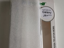 Husa silicon pentru Samsung J 4 Plus,nou nouța