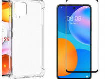 Samsung A31 M31S M51 A41 A42 - Husa Silicon Anti Soc + Folie