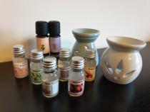Set uleiuri aromatice/Colectie parfum camera, nou
