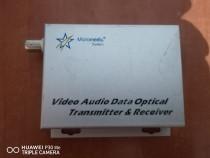 Video Audio Data Optical Transmitter & Receiver