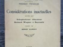 Carte veche friedrich nietzsche trei volume limba franceza