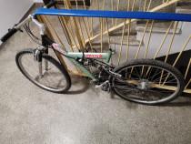 Bicicleta GIANT Full Suspension ușoară cu aluminiu