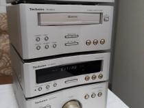 Linie Technics. Amplificator, deck, cd player, radio (tuner)