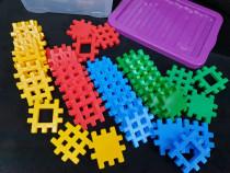 Blocuri de construit, 48 piese constructie, 12+