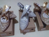 Pantofi noi, cu eticheta si cutie, mar. 36